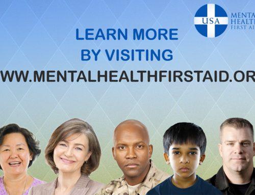 Mental Health First Aid – Public Service Announcement